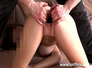 Busty babe fisted and fucked with a huge vegetable