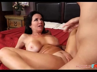 Sexy Big Tits MILF Stepmom Teaching Her Stepson